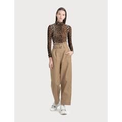 Chino Wide Leg Pants