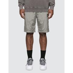 Nylon Metal Ripstop Bermuda Shorts